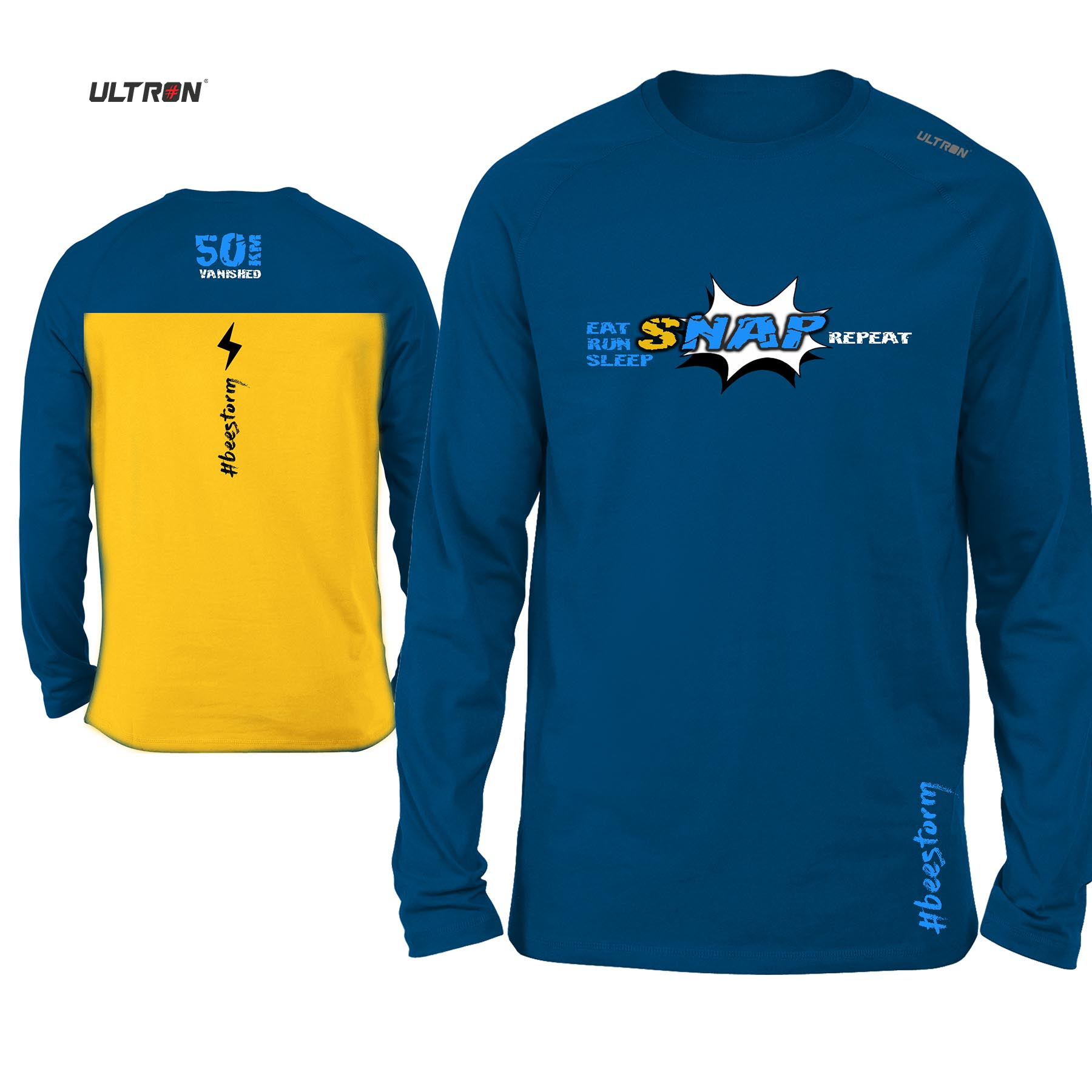NEW : SNAP (Long Sleeves)